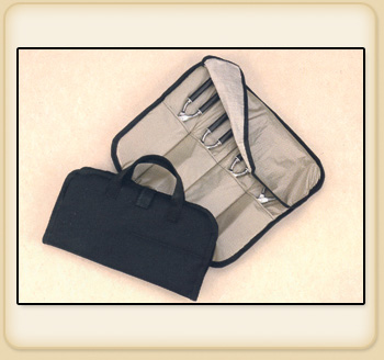 4-POUCH CASE HOLDS 4 IRONS