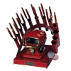 RAINBOW DEAL STAND/STOVE/10 IRONS-BURGUNDY