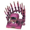 RAINBOW DEAL STAND/STOVE/10 IRONS-FUCHSIA