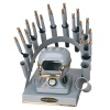RAINBOW DEAL STAND/STOVE/10 IRONS-GRAY