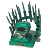 RAINBOW DEAL STAND/STOVE/10 IRONS-GREEN
