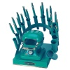 RAINBOW DEAL STAND/STOVE/10 IRONS-TEAL