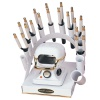 RAINBOW DEAL STAND/STOVE/10 IRONS-WHITE