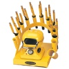 RAINBOW DEAL STAND/STOVE/10 IRONS-YELLOW